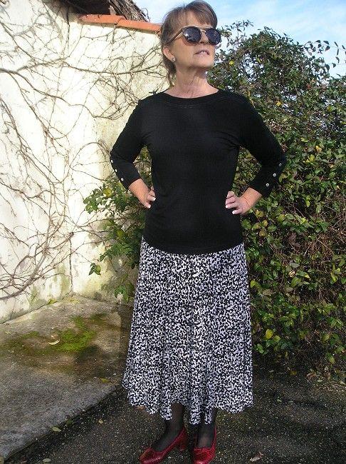 jupe plissée soleil sénior