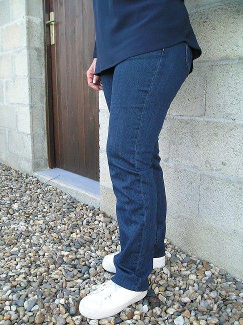 pantalon jean femme sénior