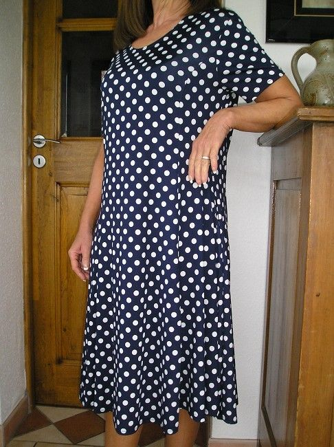 robe à pois sénior