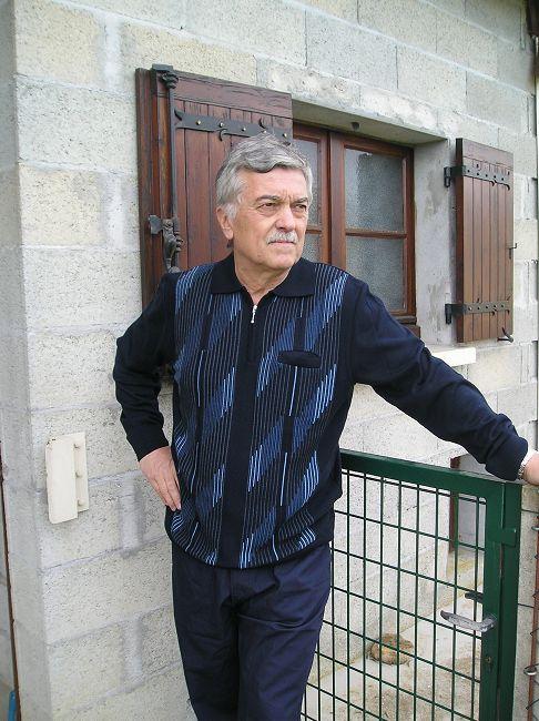 polo zippé homme sénior