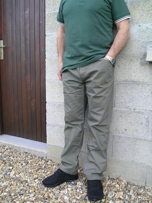 pantalon toile sénior