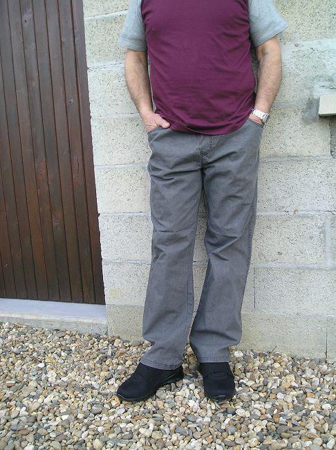 pantalon 100% coton personne âgée