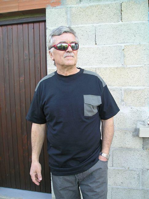tee-shirt personne âgée