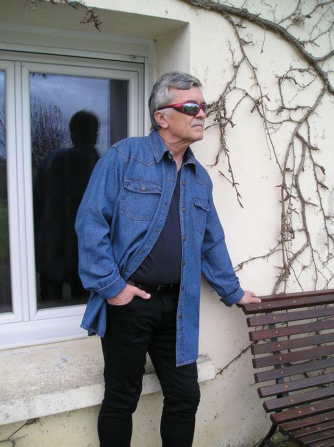 chemise jean sénior