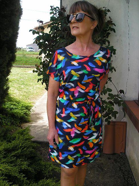 robe droite sénior