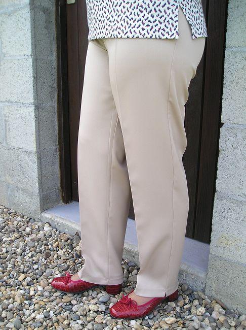 pantalon 100% polyester sénior