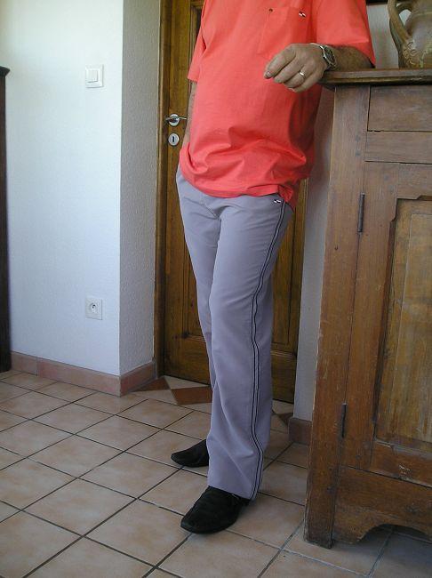 pantalon 100% polyester personne âgée