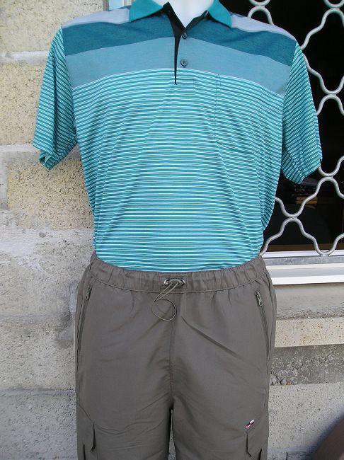 pantalon taille élastiquée 3 ème âge