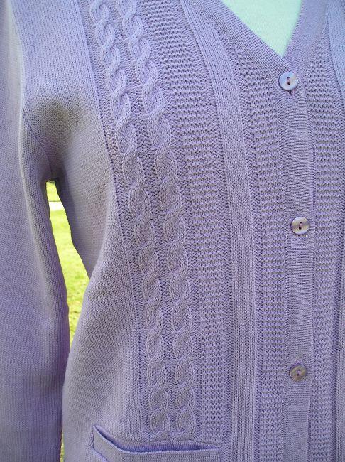 veste personne âgée 100% acrylique
