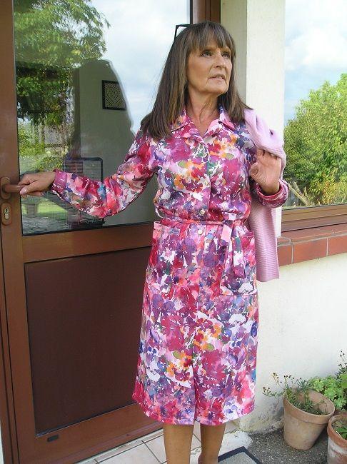 robe automne-hiver 3 ème âge