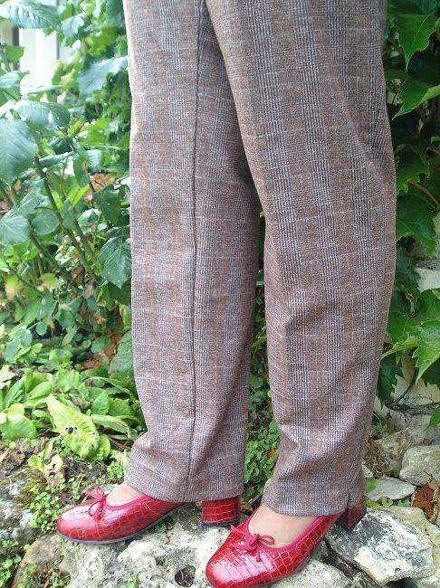 pantalon épais automne-hiver femme sénior