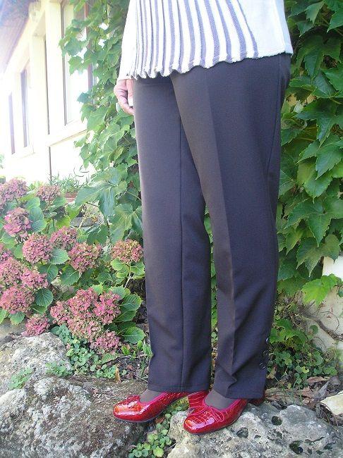 pantalon sénior taille élastiquée