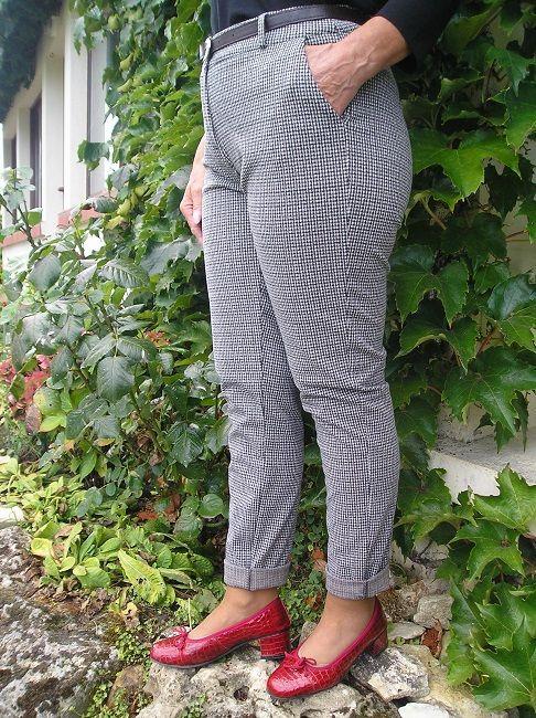 pantalon carreaux automne -hiver sénior