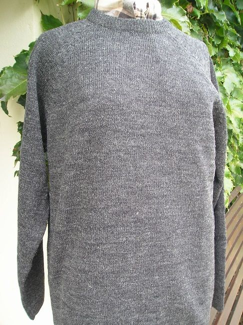 pull col rond sénior homme