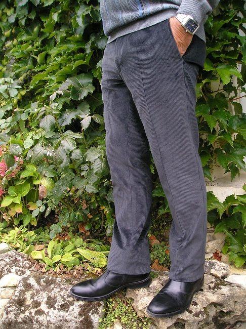 pantalon velours réglo
