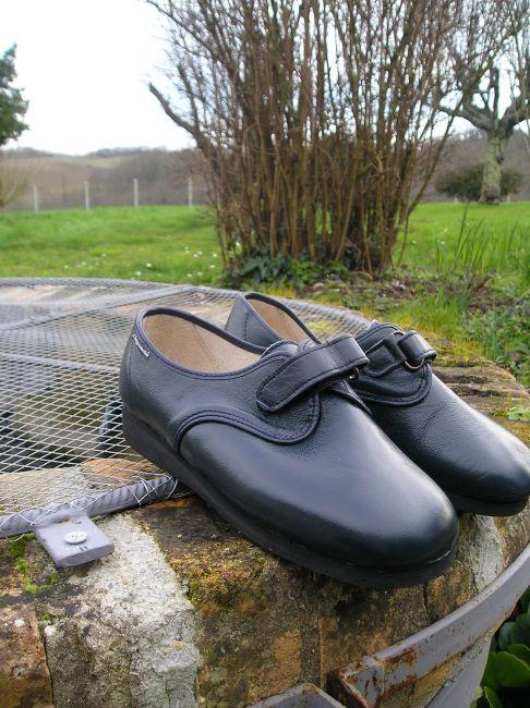 chaussure karole cuir 11 eme largeur