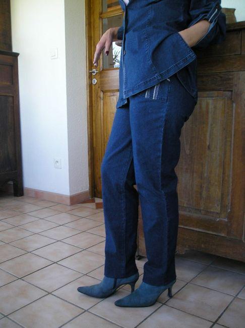 pantalon jean sénior printemps-été