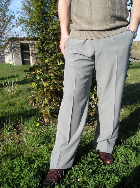 pantalon réglo d'été sénior
