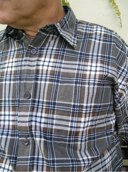 chemise homme manches longues hiver