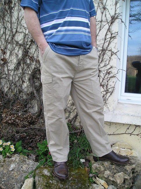 pantalon personne âgée homme