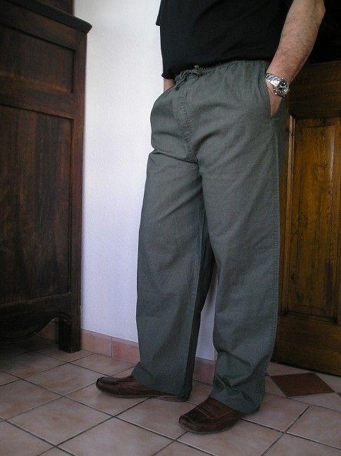 pantalon d'été sénior