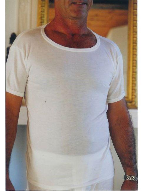 maillot de corps homme 100% coton